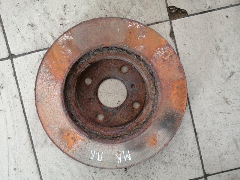 Тормозной диск Geely Mk MR479QA 2012 передний (б/у)