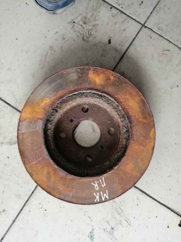 Тормозной диск Geely Mk MR479QA 2010 передний (б/у)