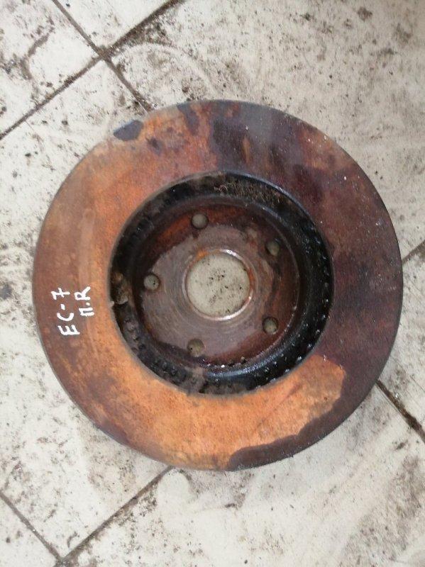 Тормозной диск Geely Emgrand Ec7 FE1 JL4G15 2014 передний (б/у)