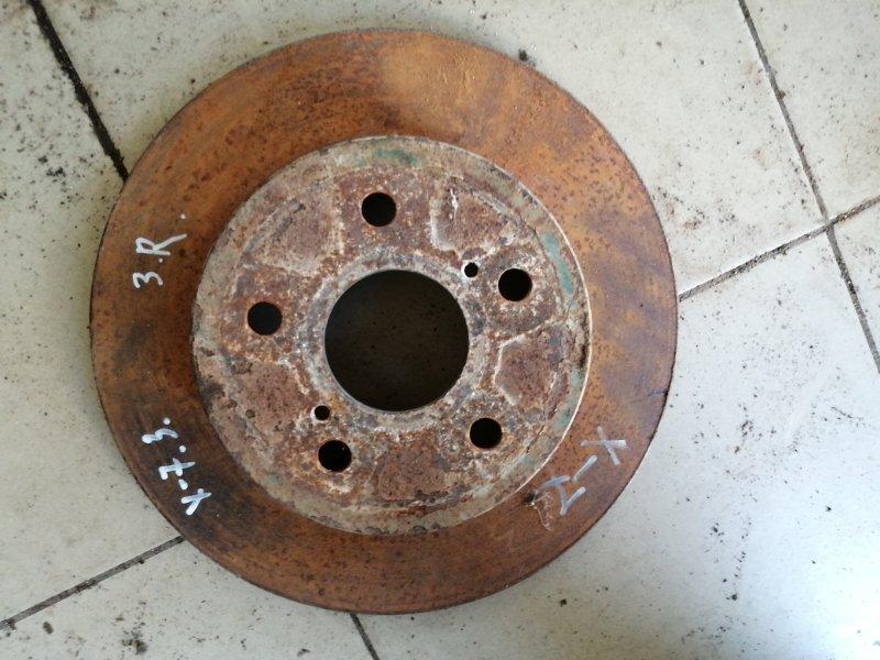 Тормозной диск Geely Emgrand X7 X7 JLD-4G20 2014 задний (б/у)
