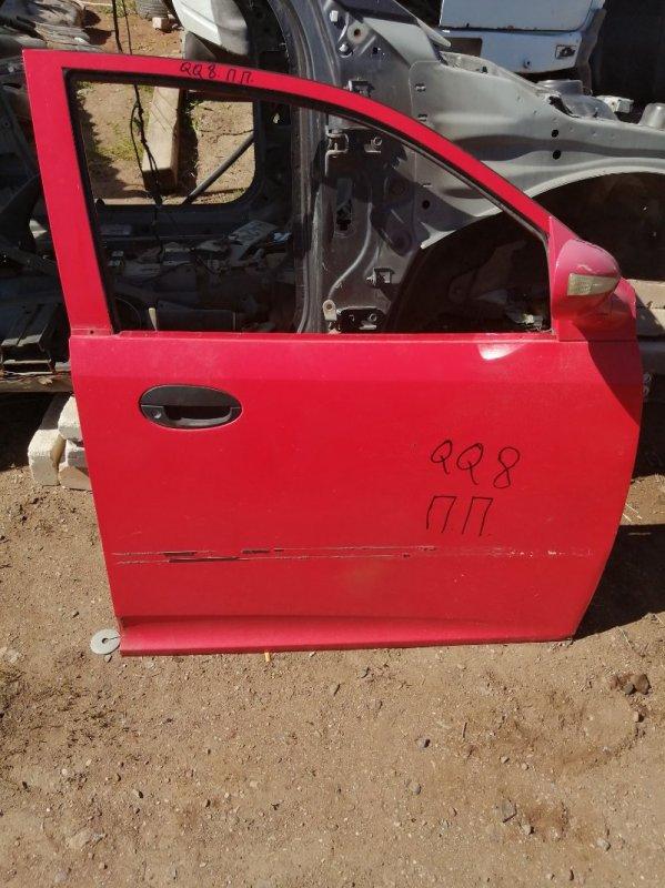 Дверь Chery Qq S21 SQR472F 2010 передняя правая (б/у)