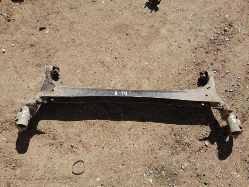 Балка подвески Chery Crosseastar B14 SQR484F 2012 задняя (б/у)