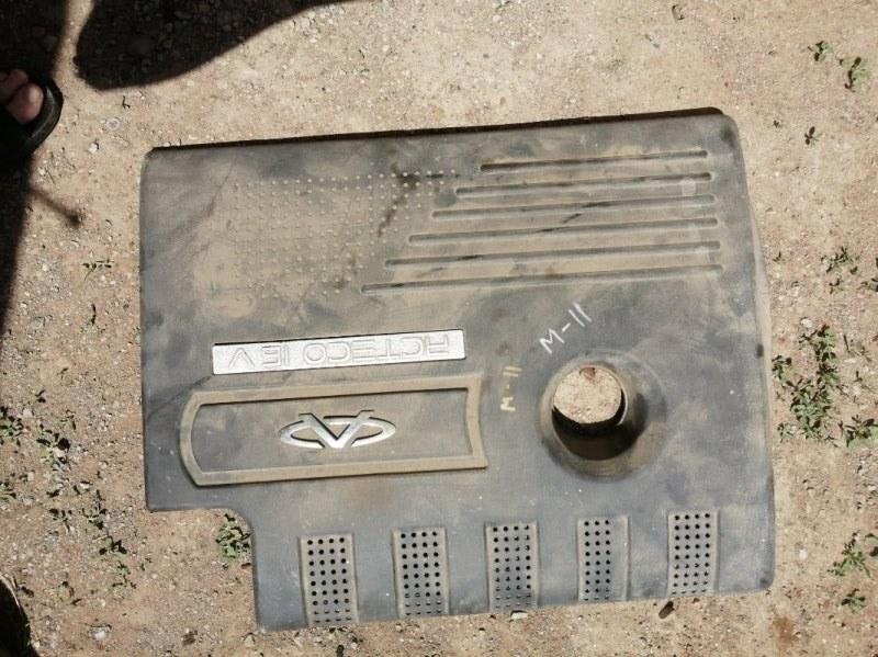 Накладка декоративная на двигатель Chery M11 SQR481F 2012 (б/у)
