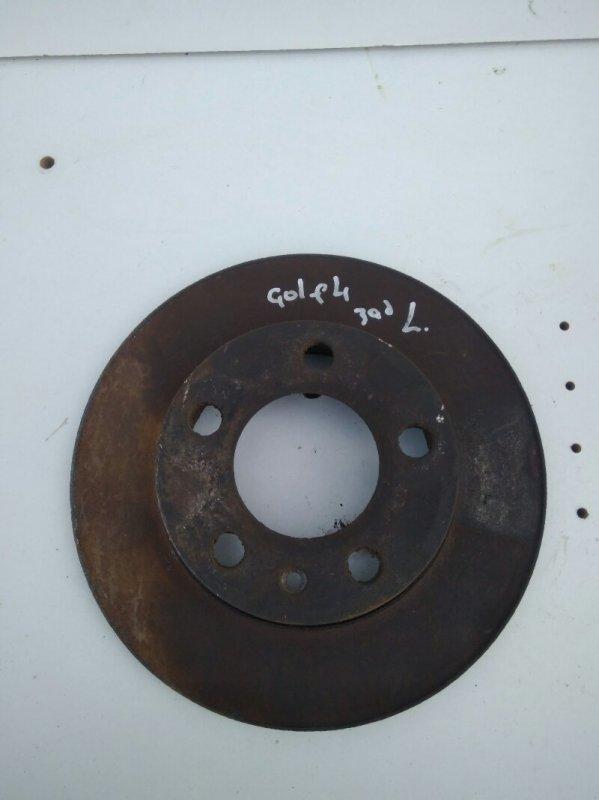 Тормозной диск Volkswagen Golf4/bora 1J1 APE 2002 задний (б/у)