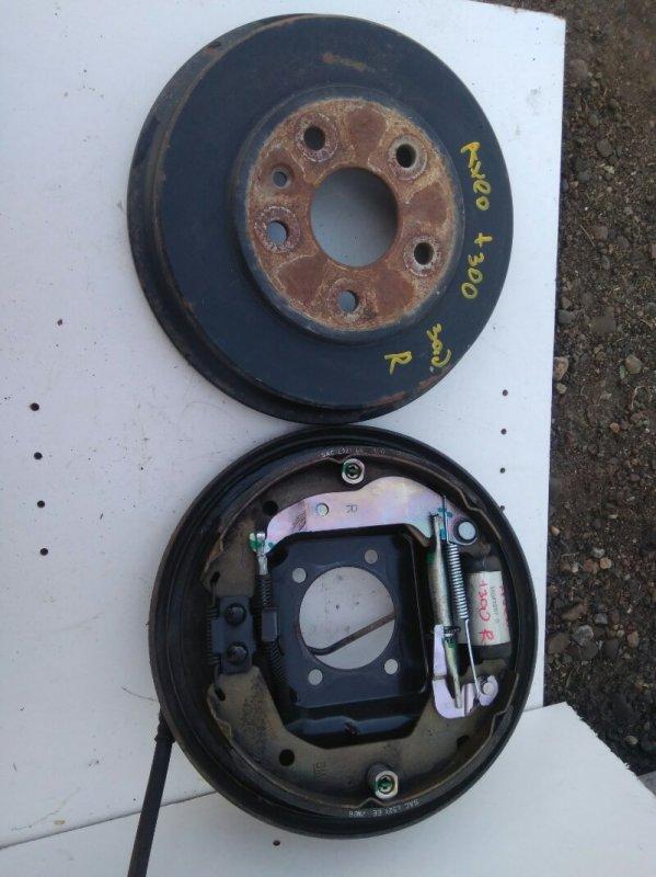 Тормозной барабан Chevrolet Aveo T300 F16D4 2013 задний (б/у)