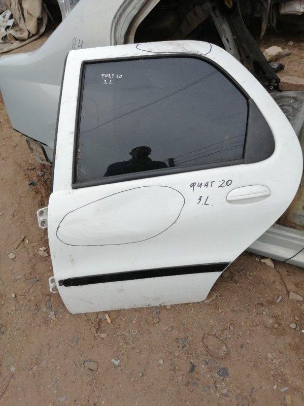 Дверь Fiat Palio Weekend 1242 SW CF2 1999 задняя левая (б/у)