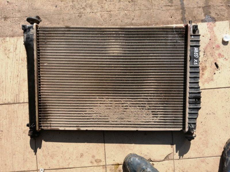 Радиатор двс Chevrolet Aveo T250 B12D1 2008 (б/у)