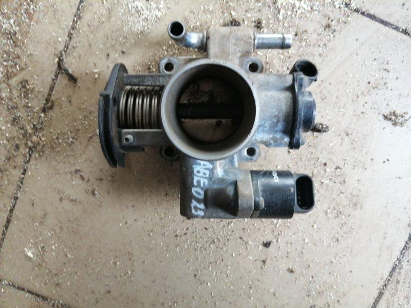 Блок дроссельной заслонки Chevrolet Aveo T250 B12D1 2008 (б/у)