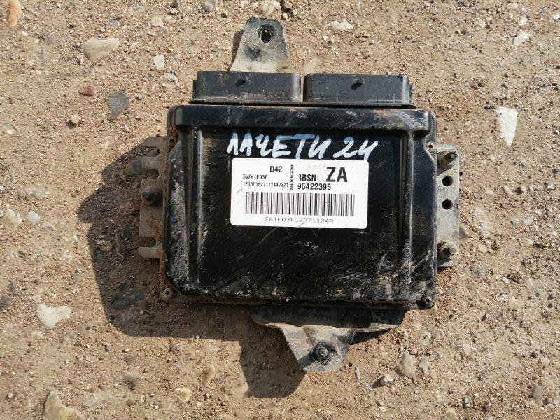 Блок управления двигателем Chevrolet Lacetti J200 F16D3 2009 (б/у)