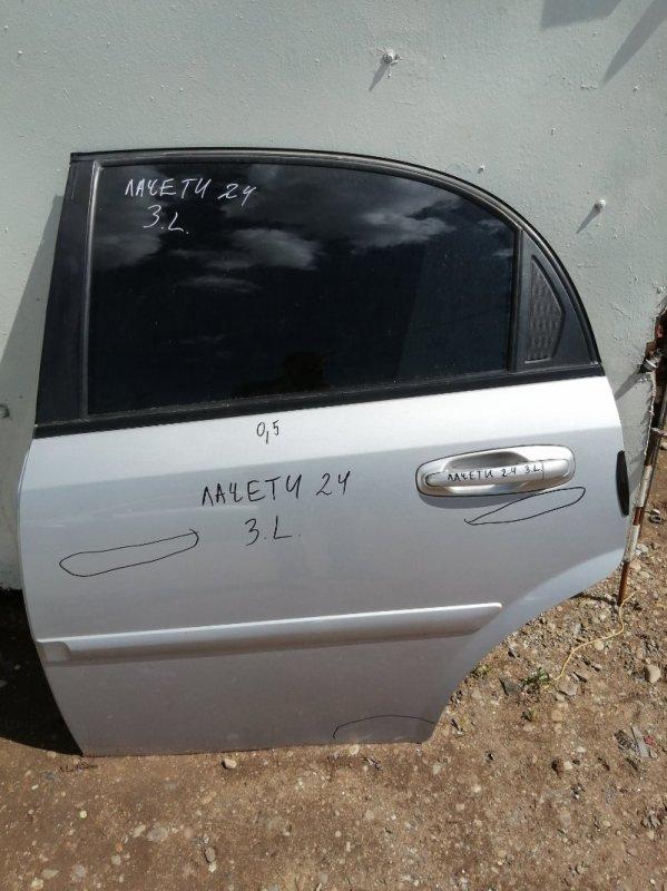 Дверь Chevrolet Lacetti J200 F16D3 2009 задняя левая (б/у)