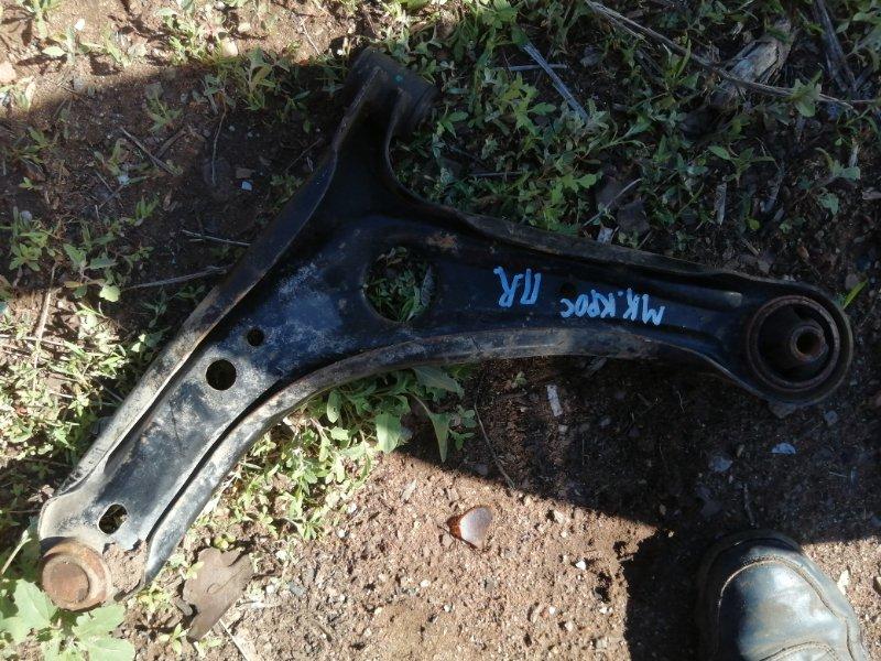 Рычаг подвески Geely Mk Cross MR479QA 2013 передний правый (б/у)