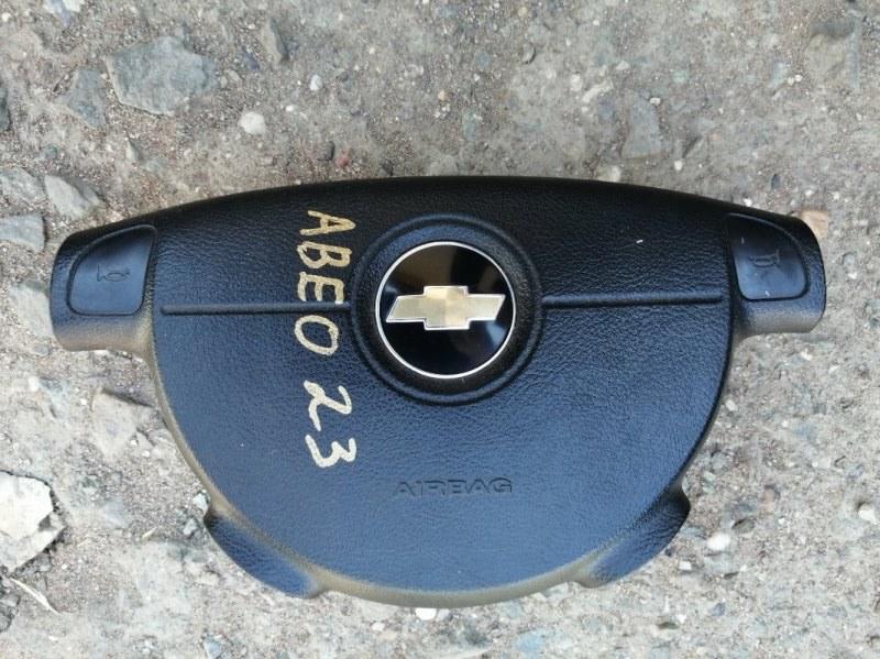 Аирбаг на руль Chevrolet Aveo T250 B12D1 2008 (б/у)