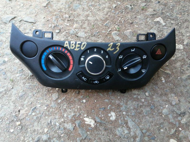 Блок управления отопителем Chevrolet Aveo T250 B12D1 2008 (б/у)