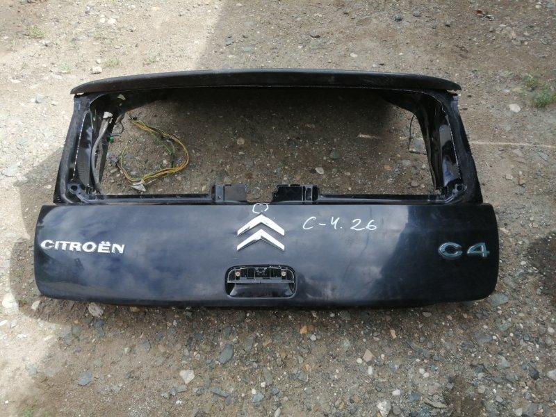Крышка багажника Citroen C4 LA EP6 2008 (б/у)