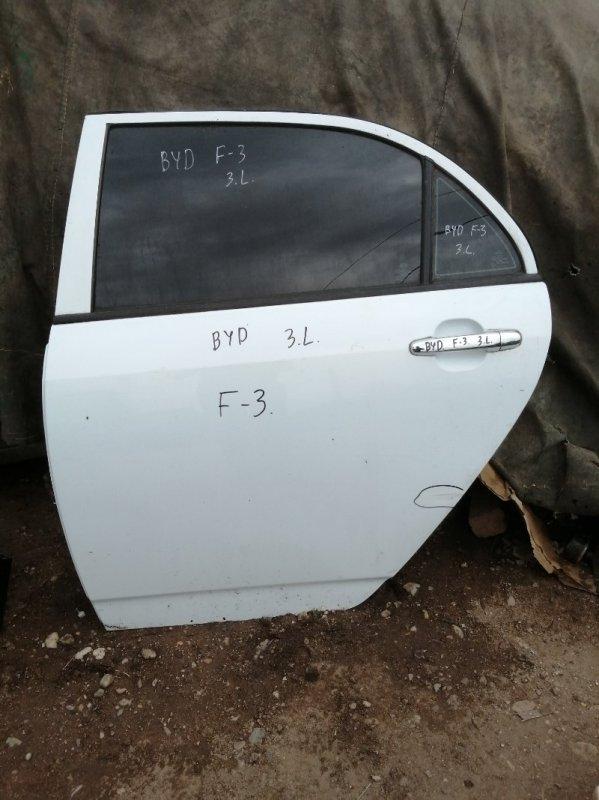 Дверь Byd F3 2011 задняя левая (б/у)