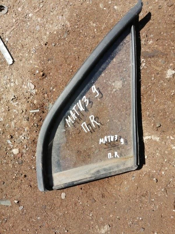 Стекло Daewoo Matiz KLYA F8CV 2009 переднее правое (б/у)
