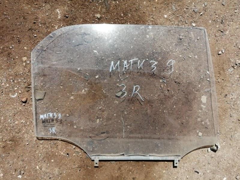 Стекло Daewoo Matiz KLYA F8CV 2009 заднее правое (б/у)