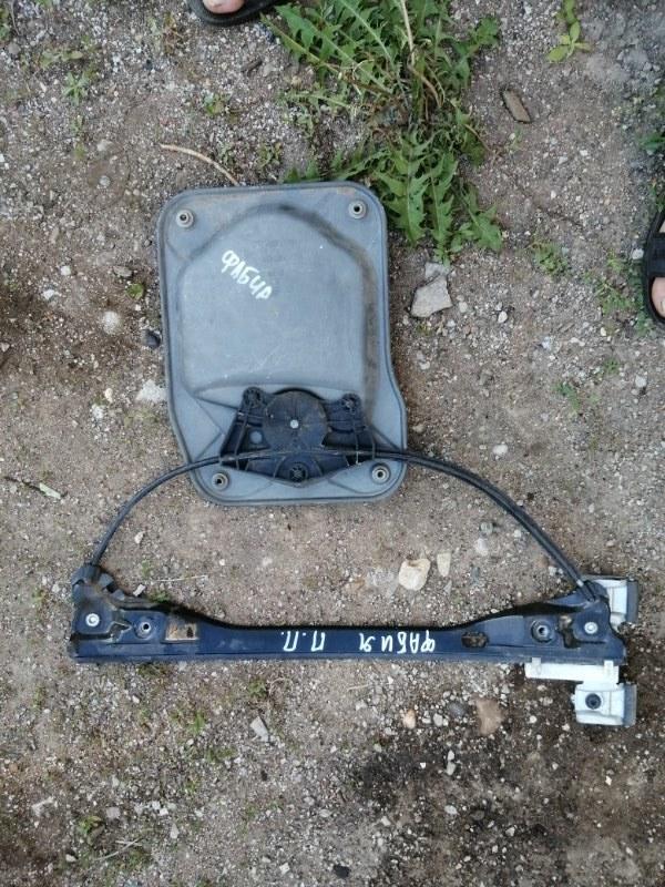Стеклоподъемник Skoda Fabia 5J2 BBM 2008 передний правый (б/у)