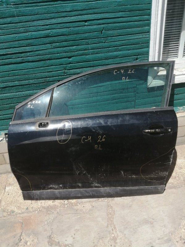 Дверь Citroen C4 LA EP6 2008 передняя левая (б/у)