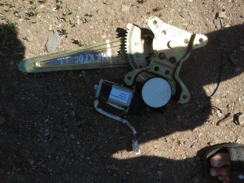 Стеклоподъемник Geely Mk Cross 5A-FE 2013 задний левый (б/у)