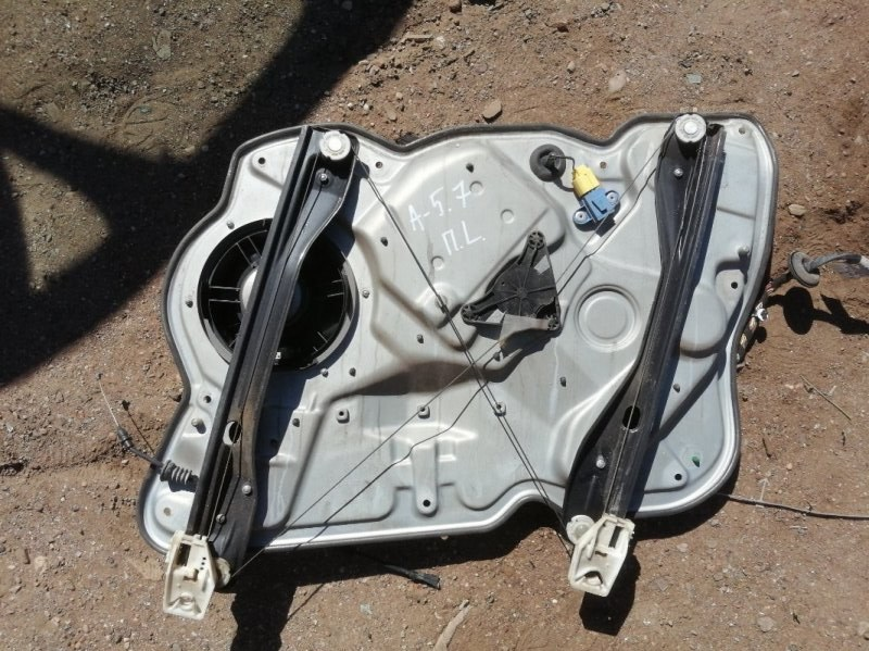 Стеклоподъемник Skoda Octavia 1Z3 CAXA 2012 передний левый (б/у)