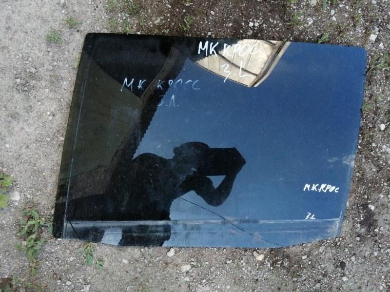 Стекло Geely Mk Cross 5A-FE 2011 заднее левое (б/у)