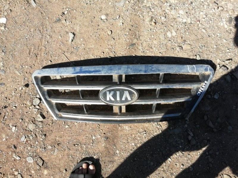 Решетка бампера Kia Sorento 1 BL D4CB 2008 (б/у)