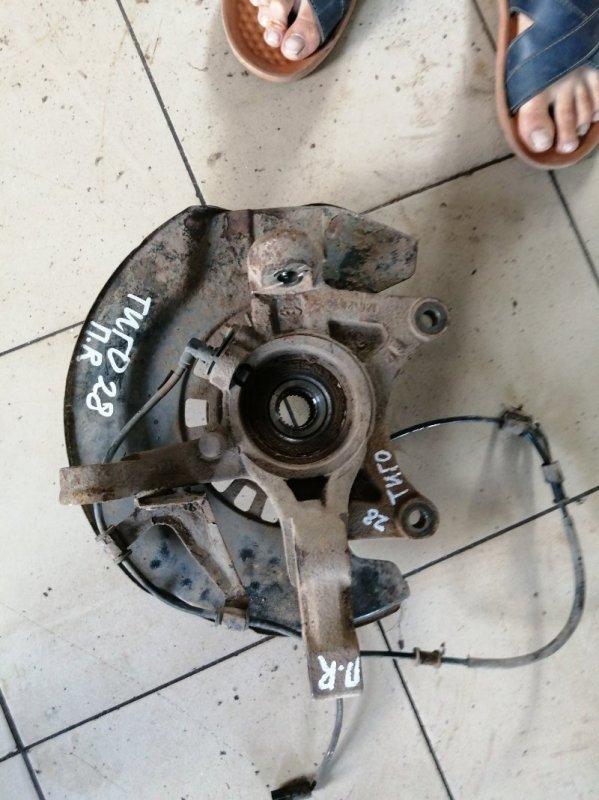 Кулак поворотный Chery Tiggo T11 SQR484F 2012 передний правый (б/у)