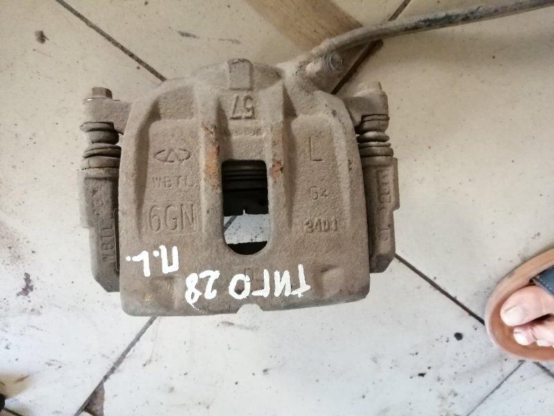 Суппорт Chery Tiggo T11 SQR484F 2012 передний левый (б/у)