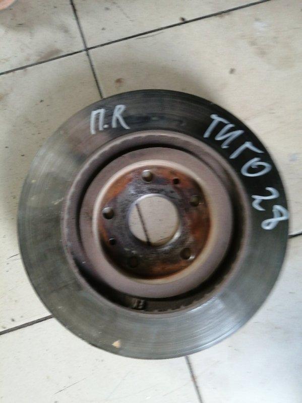 Тормозной диск Chery Tiggo T11 SQR484F 2012 передний (б/у)