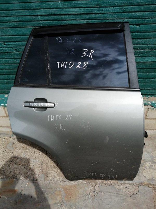 Дверь Chery Tiggo T11 SQR484F 2012 задняя правая (б/у)