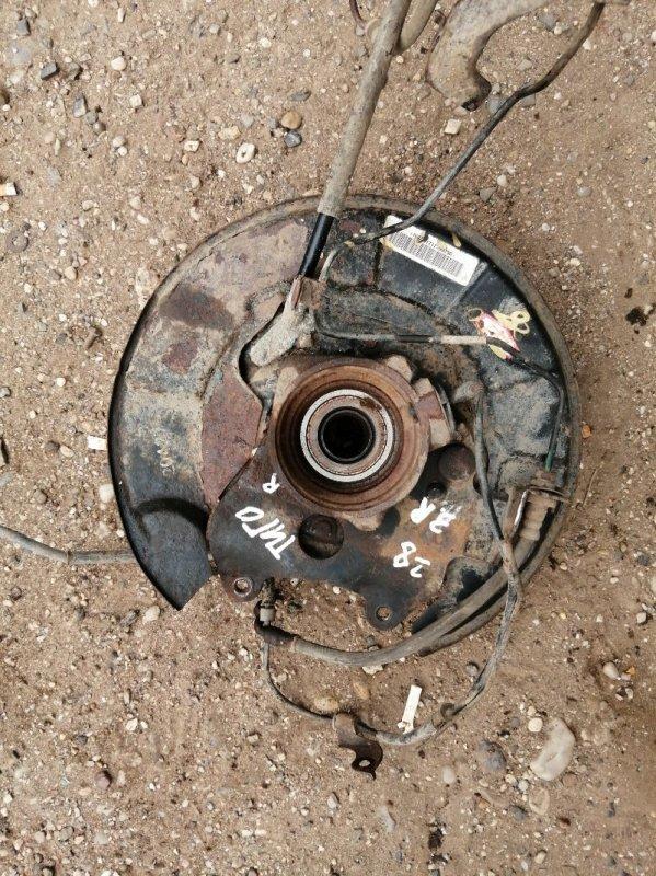 Кулак поворотный Chery Tiggo T11 SQR484F 2012 задний правый (б/у)
