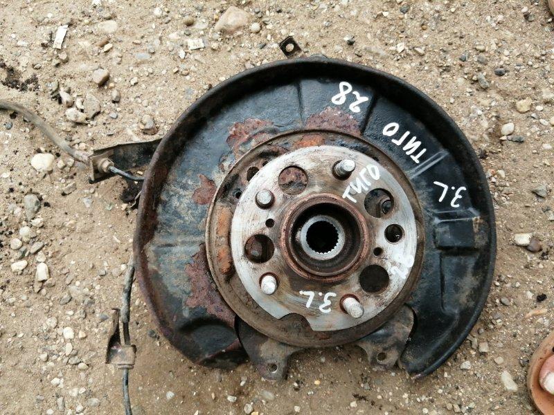Кулак поворотный Chery Tiggo T11 SQR484F 2012 задний левый (б/у)