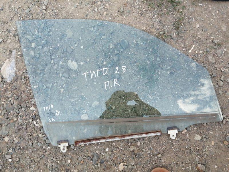 Стекло Chery Tiggo T11 SQR484F 2012 переднее левое (б/у)