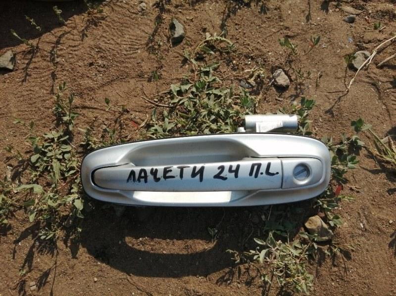 Ручка двери внешняя Chevrolet Lacetti J200 F16D3 2009 передняя левая (б/у)