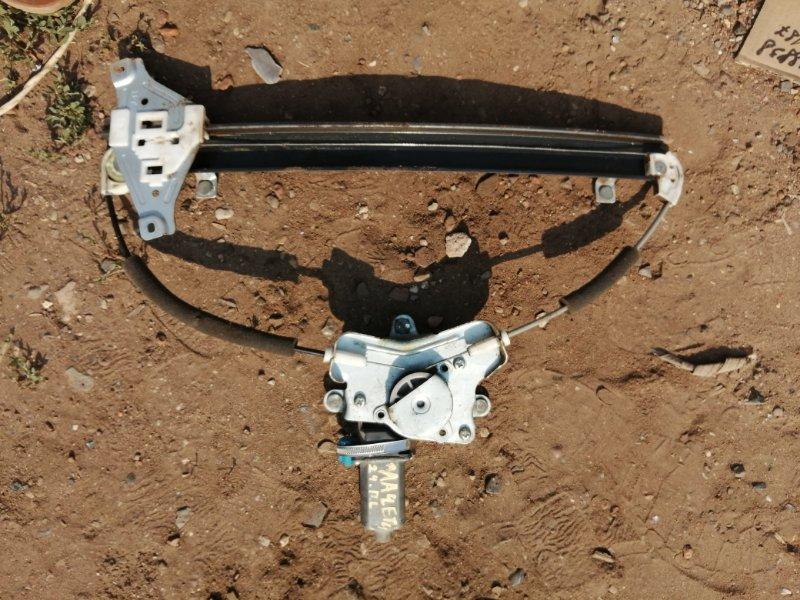 Стеклоподъемник Chevrolet Lacetti J200 F16D3 2009 передний левый (б/у)