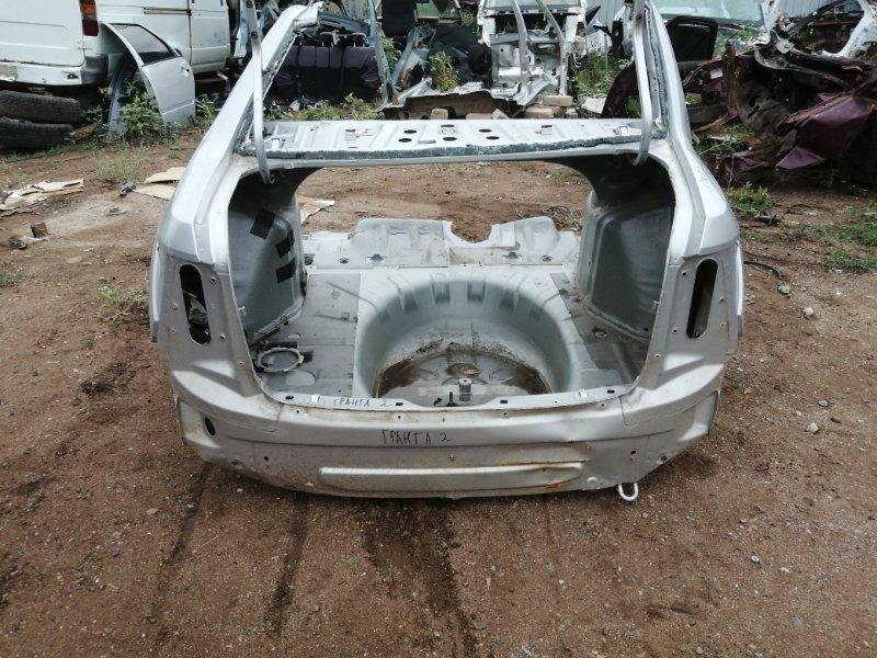 Задняя часть кузова Lada Granta 2190 2013 задняя (б/у)