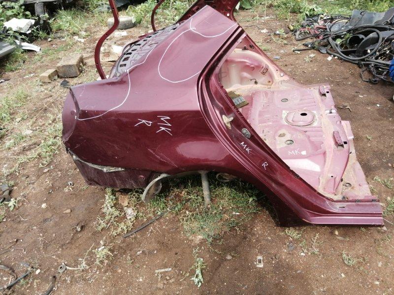 Задняя часть кузова Geely Mk 5A-FE 2011 задняя (б/у)