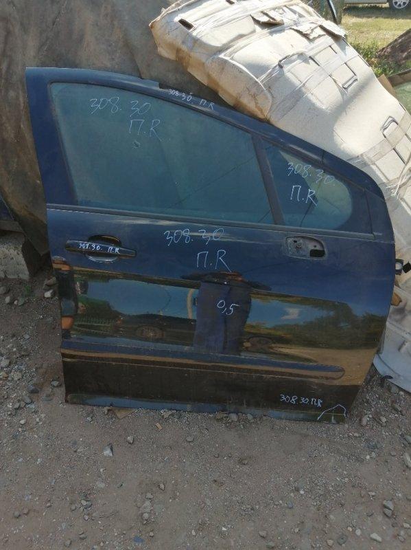 Дверь Peugeot 308 4A/C EP6 2011 передняя правая (б/у)