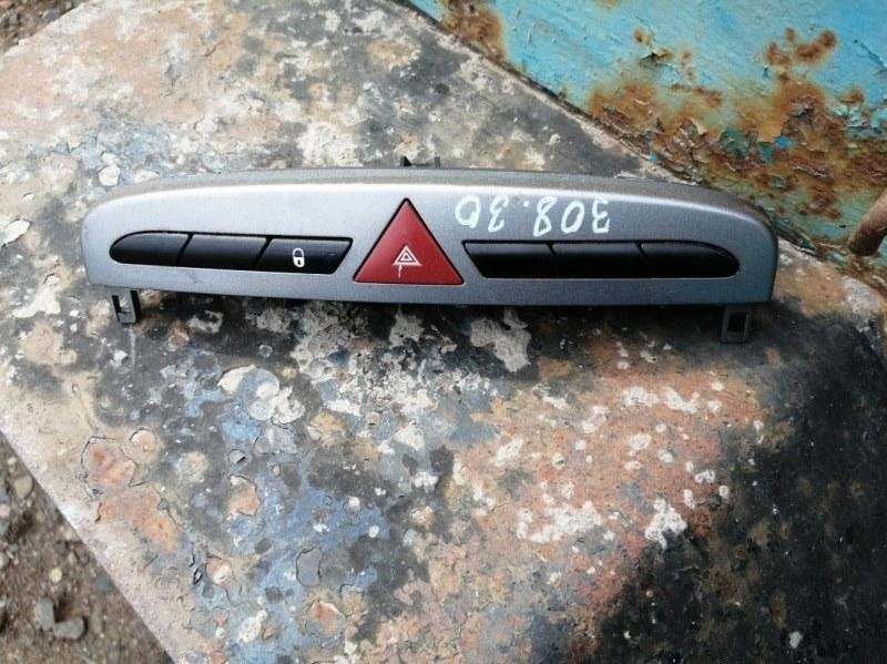 Кнопка аварийной сигнализации Peugeot 308 4A/C EP6 2011 (б/у)