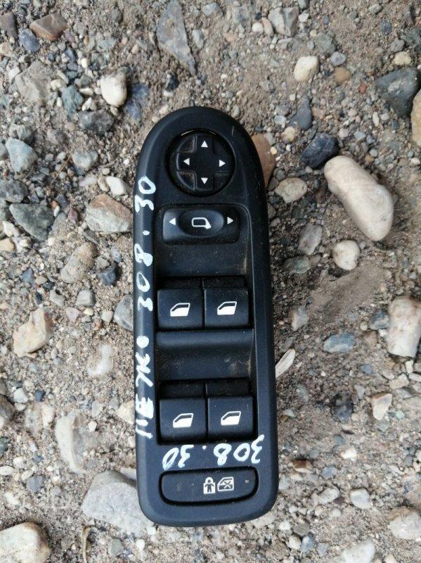 Блок управления стеклоподъемниками Peugeot 308 4A/C EP6 2011 (б/у)