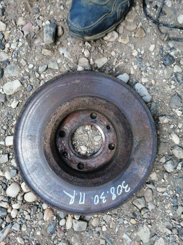 Тормозной диск Peugeot 308 4A/C EP6 2011 (б/у)