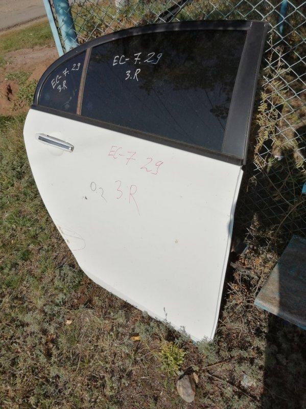 Дверь Geely Emgrand Ec7 FE1 JL4G15 2012 задняя правая (б/у)