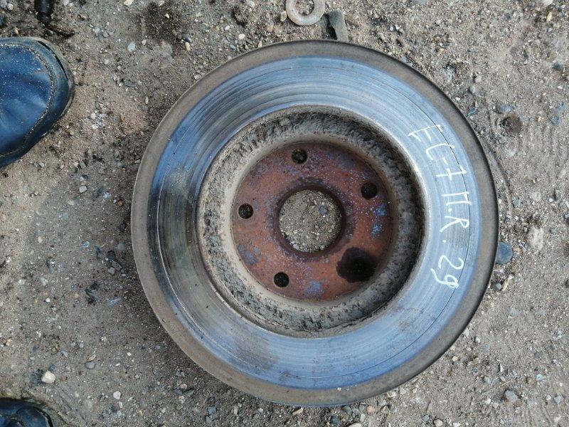 Тормозной диск Geely Emgrand Ec7 FE1 JL4G15 2012 передний правый (б/у)