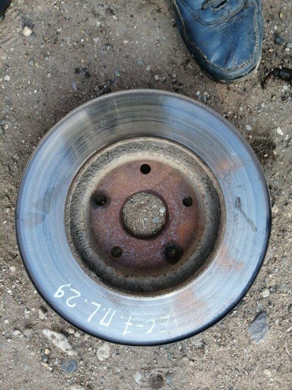 Тормозной диск Geely Emgrand Ec7 FE1 JL4G15 2012 (б/у)