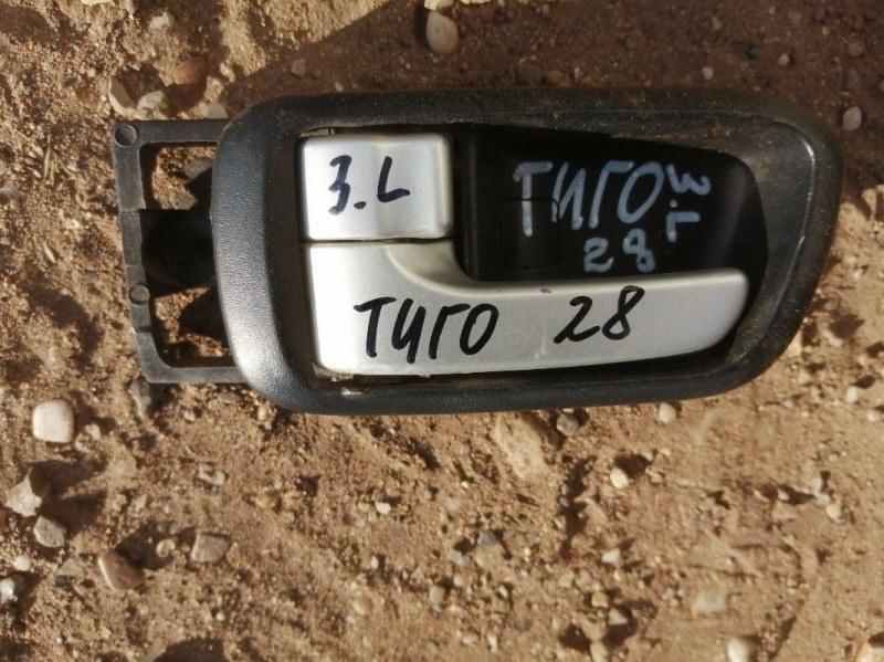 Ручка двери внутренняя Chery Tiggo T11 SQR484F 2012 задняя левая (б/у)