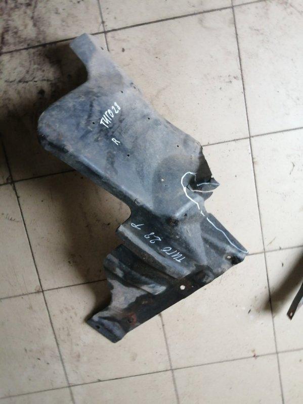 Защита двигателя Chery Tiggo T11 SQR484F 2012 левая (б/у)