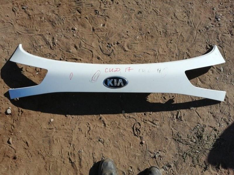 Накладка на дверь Kia Ceed 2 JD G4FG 2014 задняя (б/у)