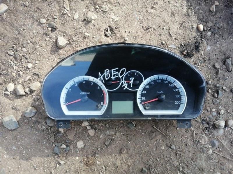 Щиток приборов Chevrolet Aveo T250 F14D4 2010 (б/у)
