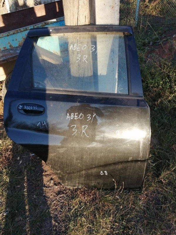 Дверь Chevrolet Aveo T250 F14D4 2010 задняя правая (б/у)